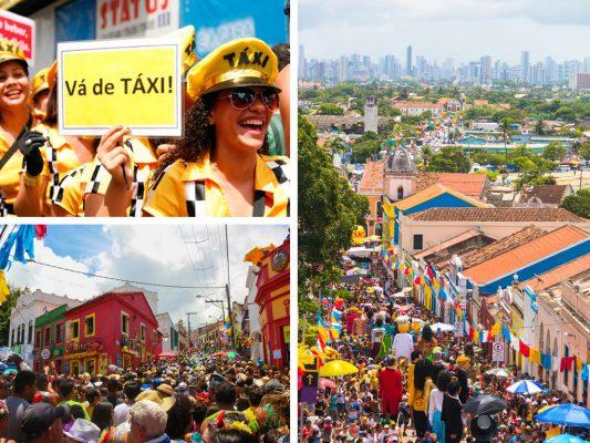 Carnaval en Olinda Brasil