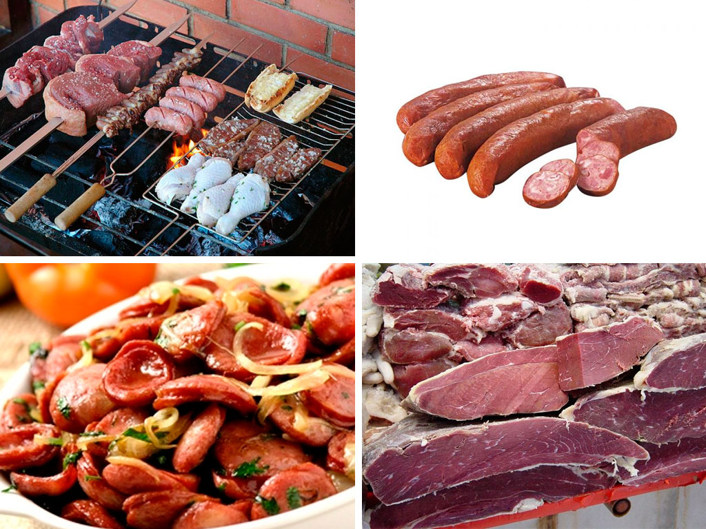 Cortes de cerdo Brasil