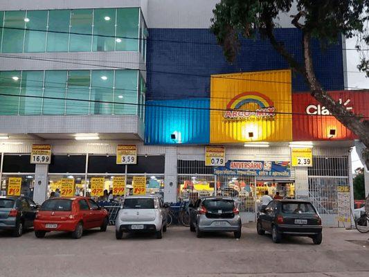 Supermercado arco-mix porto de galinhas