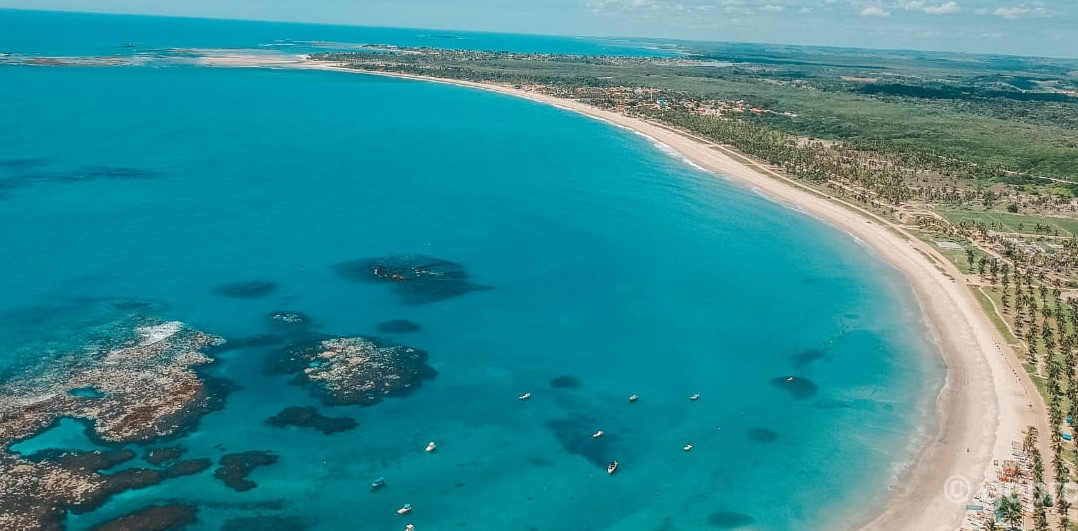 Aerea de playa maracaípe