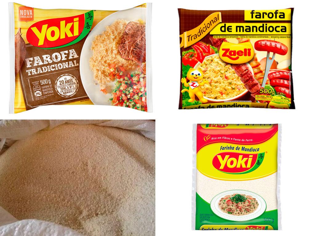 Paquetes de Farofa Pronta