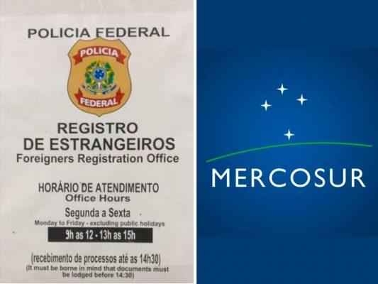 policia federal aeropuerto recife mercosur