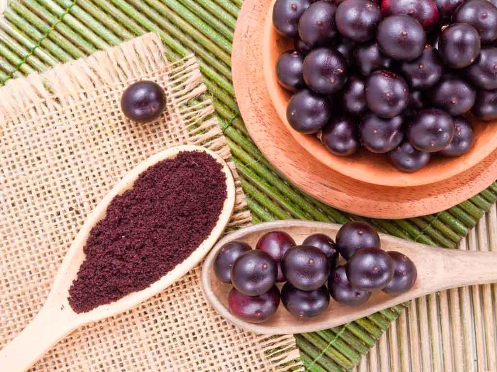 fruta acai