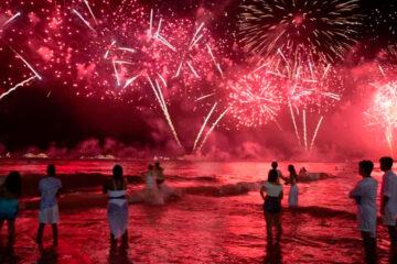 año nuevo en la playa